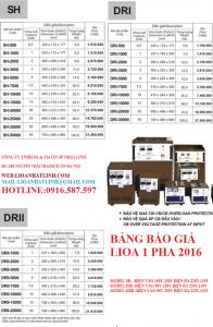 LIOA 1 PHA 2016