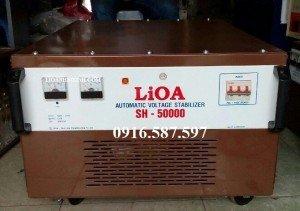 ổn áp lioa 50kw 1 pha mã sp sh 50000 miễn phí vận chuyển lắp đặt km 25-30%