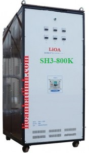 LIOA SH3 800K|ỔN ÁP LIOA 800KVA 3 PHA KHÔ|LIOA AVR 800KW