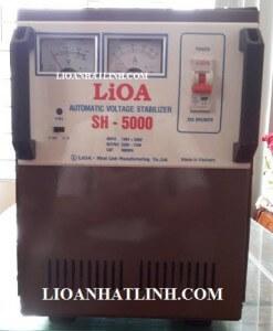 ổn áp lioa 5kva dùng cho điều hóa máy lạnh 18000 btu