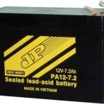 ắc quy dùng cho quạt điện 12v