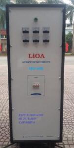 ỔN ÁP LIOA SH3 60K 260V-430V/380V-220V-LIOA 60KW 3 PHA