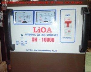 ổn áp lioa 10kva sh 10000 điện vào 150v-250v