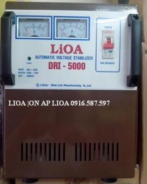 ỔN ÁP LIOA DRI 5000 90V-250V