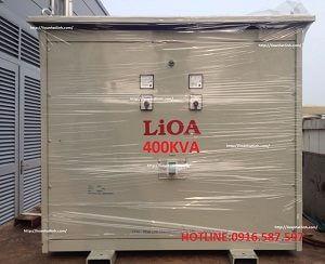 máy biến áp 400kva-biến áp lioa 400kw-biến áp 380v-220v-200v 3 pha