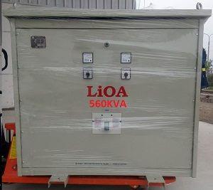 máy biến áp lioa 560kva 3 pha