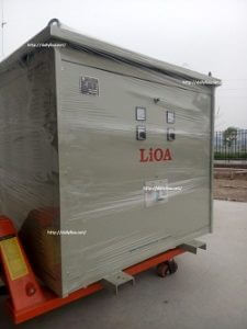 máy biến áp lioa 200kva 3 pha 3k202m2yh5yt, bien ap 3k202m2dh5yc