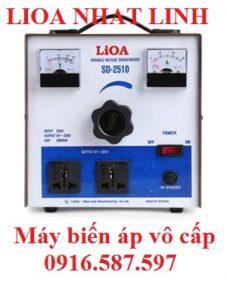 sd 2537.5 máy biến áp lioa 8,25kva 37.5a| máy biến áp vô cấp lioa 1 pha