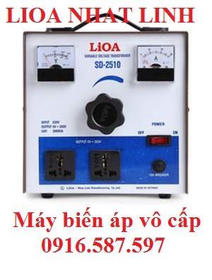máy biến áp lioa