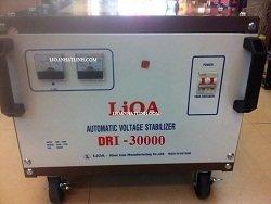 bán lioa 30kw 1 pha giá rẻ hàng chính hãng ổn áp 30kw bảo hành 4 năm