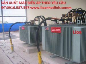 máy biến áp điện lực 3 pha ngâm dầu