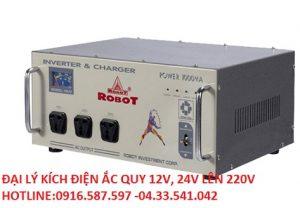 kích điện robot 1000va 12v 24v  chuyển đổi lên 220v mã sp 09ju 1000