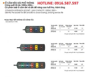 ổ cắm lioa 5tc3-2 5tc5-2 ổ cắm kéo dài phổ thông giá rẻ