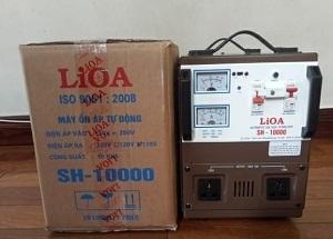 ổn áp lioa 10kw được nhiều khách hàng tin dùng