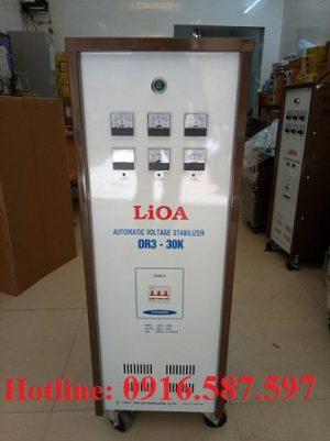 Ổn áp lioa DR3-30K |ổn áp lioa 30kva 3 pha dải rộng 160v-430v