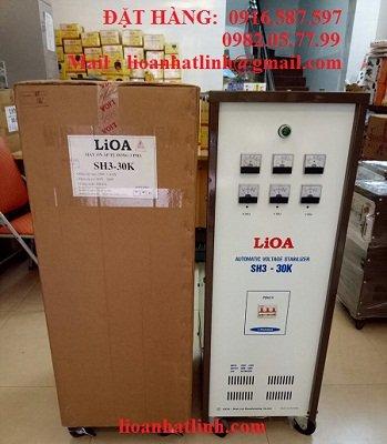 on ap lioa 30kva, ổn áp lioa 30kva, ổn áp lioa 30kw, ổn áp lioa 30k, lioa 30kw, lioa 30kva,Ôn áp lioa 30kw 3 pha 380v -220v-200v model sh3 30k, báo giá ổn áp lioa 30kva 3 pha.