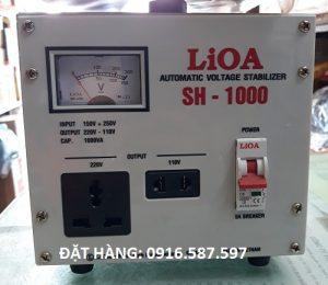 LIOA 1000W, ỔN ÁP SH 1000II 9150V-250V)/110V-220V