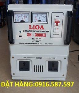 LIOA SH 3000II, ỔN ÁP LIOA 3KVA DẢI 130V-250V