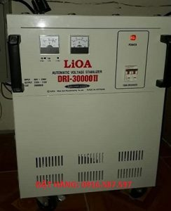 LIOA SH 30000II-(ỔN ÁP 30KVA)-LIOA 30KW- DẢI 150V-250V TSKT BÁO GIÁ LIOA 30KV