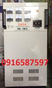 hướng dẫn vận hành lắp đặt ổn áp lioa 10kva 3 pha| ổn áp 10kw sh3 10kii