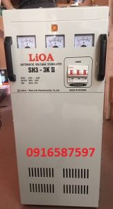 ổn áp 3 pha 3kva sh3 3kii 260v-430v| ổn áp lioa 3kw 3 pha