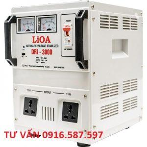 ỔN ÁP LIOA DRI-3000II | LIOA 3KVA 90V-250V | LIOA NHẬT LINH
