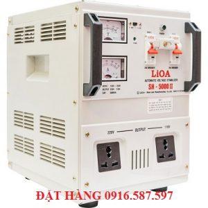 LIOA SH-5000II 150V-250V | ỔN ÁP 5KVA| LIOA NHẬT LINH