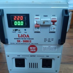 LIOA SH 5000II -ỔN ÁP LIOA 5KVA (LIOA 5000W-5KW)