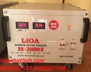 ỔN ÁP 30KW 1 PHA | LIOA 30KW 1 PHA | LIOA SH 30000II